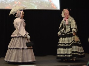 1855 dresses at the Cridge